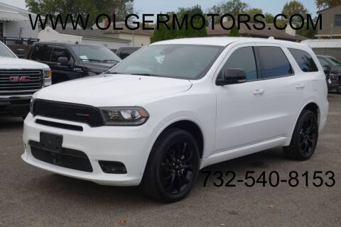 2019 Dodge Durango for sale at Olger Motors, Inc. in Woodbridge NJ