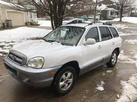 2005 Hyundai Santa Fe for sale at Nice Cars in Pleasant Hill MO