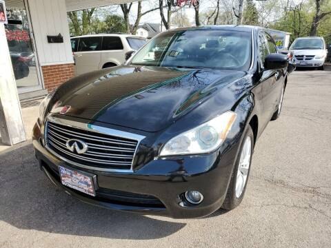 2011 Infiniti M37 for sale at New Wheels in Glendale Heights IL