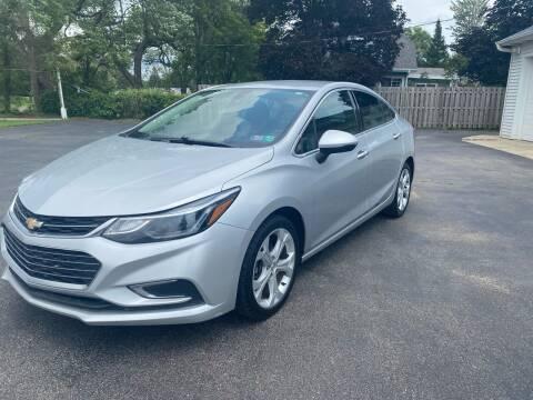 2017 Chevrolet Cruze for sale at Rombaugh's Auto Sales in Battle Creek MI