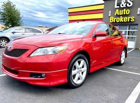 2007 Toyota Camry for sale at L & S AUTO BROKERS in Fredericksburg VA