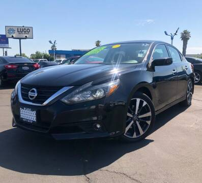 2016 Nissan Altima for sale at LUGO AUTO GROUP in Sacramento CA