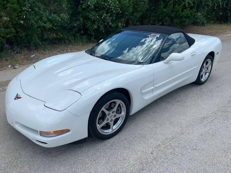 2002 Chevrolet Corvette for sale at TROPHY MOTORS in New Braunfels TX