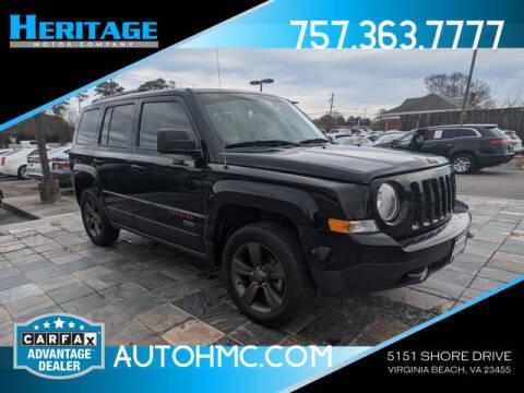 2016 Jeep Patriot for sale at Heritage Motor Company in Virginia Beach VA