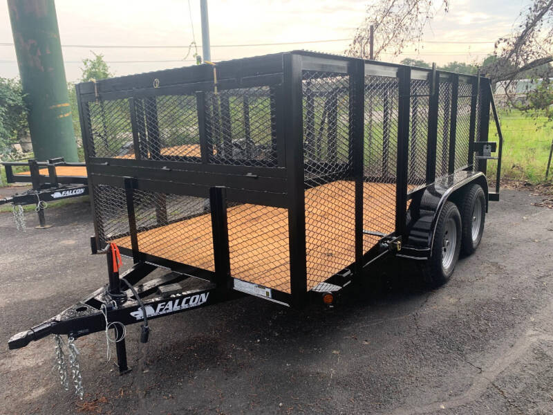 2021 FALCON 12' LANDSCAPE for sale at Trophy Trailers in New Braunfels TX