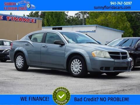 2008 Dodge Avenger for sale at Sunny Florida Cars in Bradenton FL
