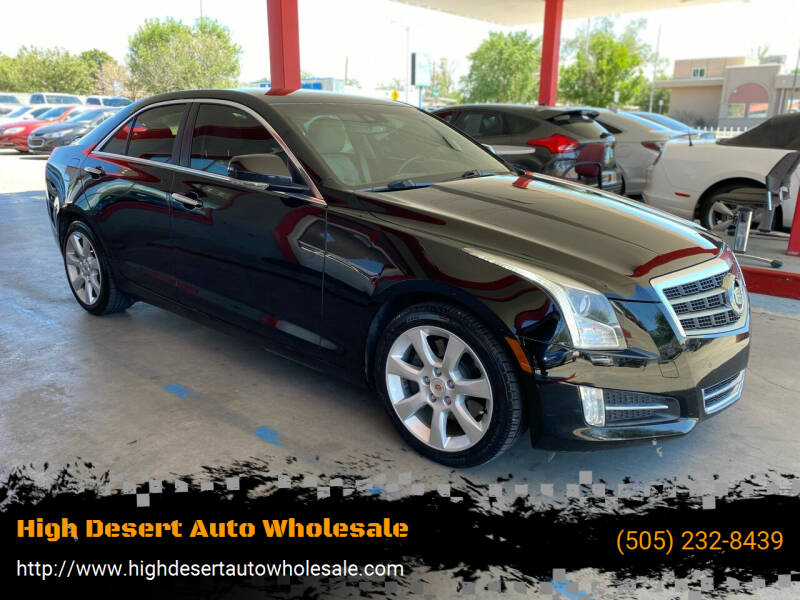 2013 Cadillac ATS for sale at High Desert Auto Wholesale in Albuquerque NM