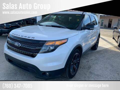 2015 Ford Explorer for sale at Salas Auto Group in Indio CA