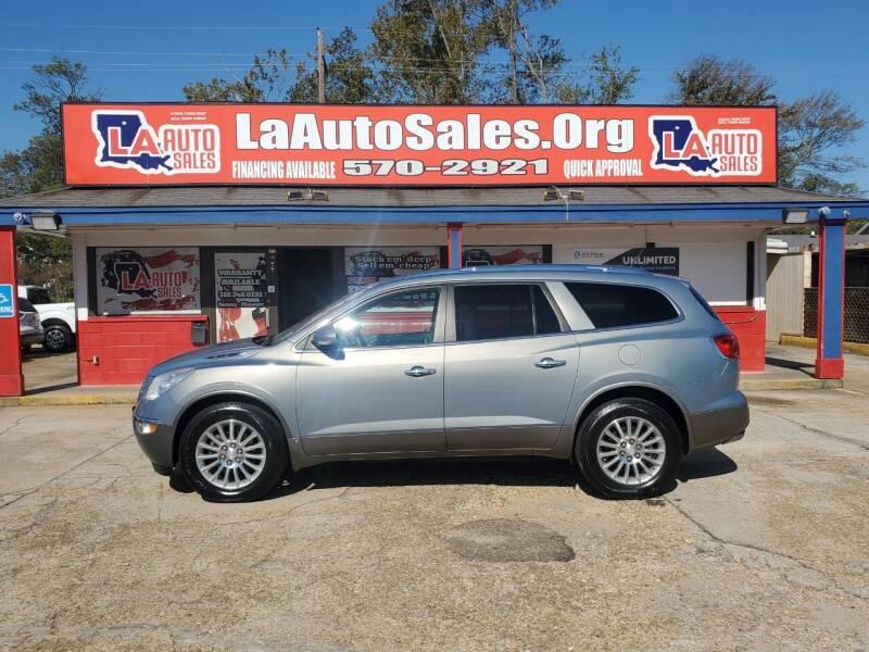 2008 Buick Enclave for sale at LA Auto Sales in Monroe LA