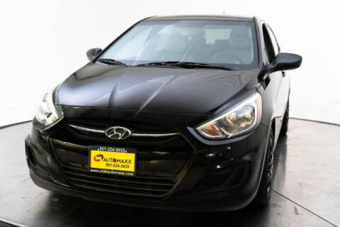2016 Hyundai Accent for sale at AUTOMAXX MAIN in Orem UT