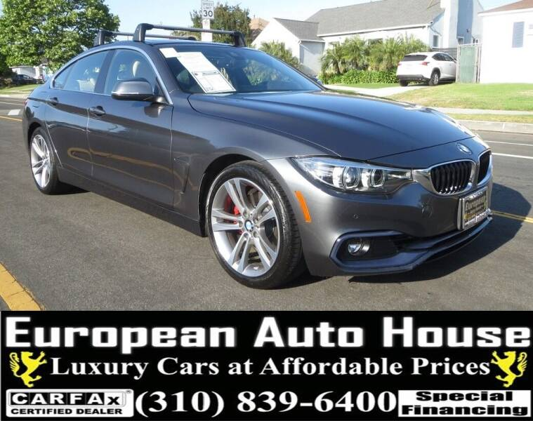 2018 BMW 4 Series for sale at European Auto House in Los Angeles CA