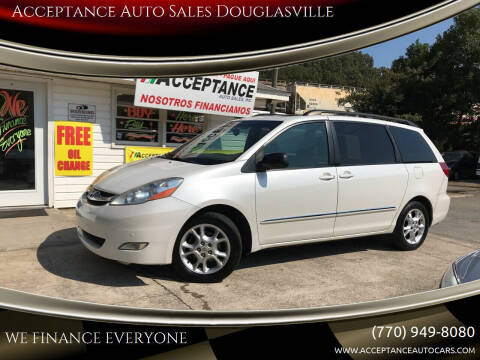 2006 Toyota Sienna for sale at Acceptance Auto Sales Douglasville in Douglasville GA