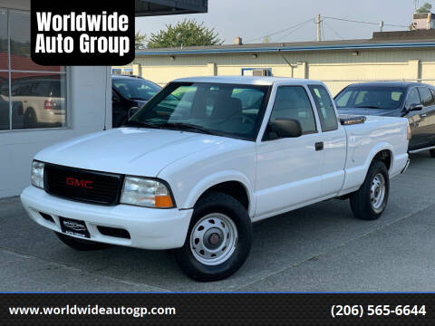 2003 GMC Sonoma for sale at Worldwide Auto Group in Auburn WA