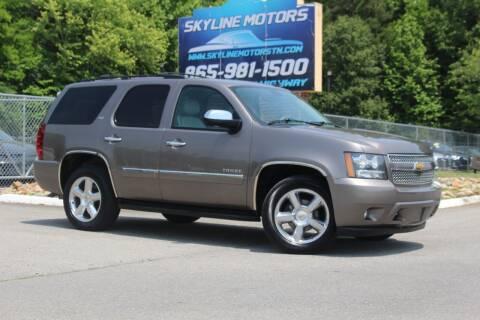 2014 Chevrolet Tahoe for sale at Skyline Motors in Louisville TN
