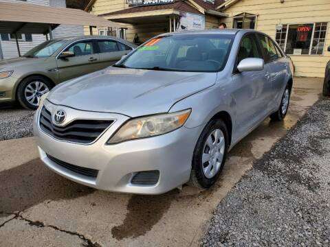 2011 Toyota Camry for sale at Auto Town Used Cars in Morgantown WV