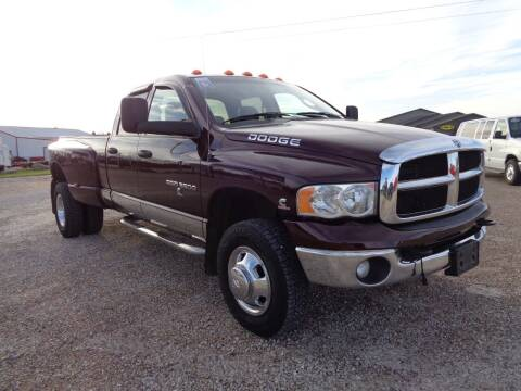 2005 Dodge Ram Pickup 3500 for sale at Burkholder Truck Sales LLC (Versailles) in Versailles MO