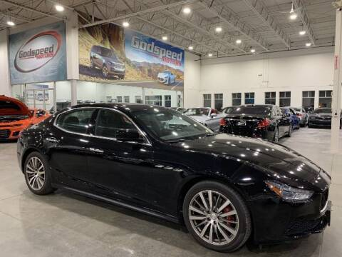 2016 Maserati Ghibli for sale at Godspeed Motors in Charlotte NC