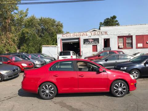 2007 Volkswagen Jetta for sale at Dan's Auto Sales and Repair LLC in East Hartford CT