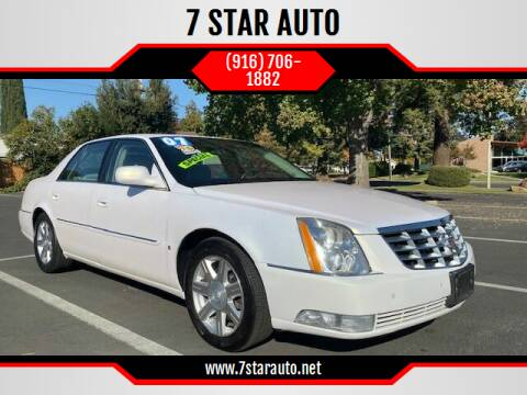 2007 Cadillac DTS for sale at 7 STAR AUTO in Sacramento CA