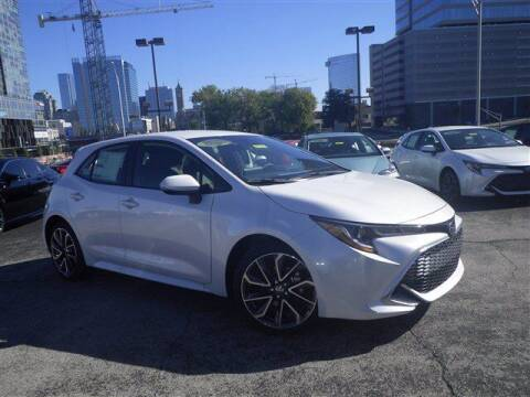 2021 Toyota Corolla Hatchback for sale at BEAMAN TOYOTA GMC BUICK in Nashville TN