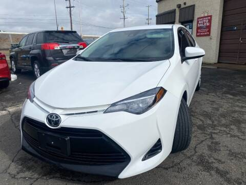 2019 Toyota Corolla for sale at Luxury Unlimited Auto Sales Inc. in Trevose PA
