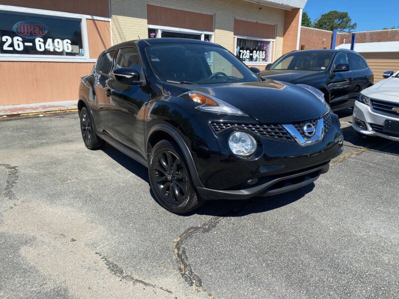 2015 Nissan JUKE for sale at City to City Auto Sales in Richmond VA