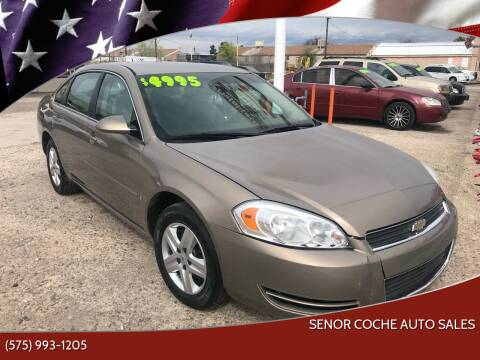 2007 Chevrolet Impala for sale at Senor Coche Auto Sales in Las Cruces NM