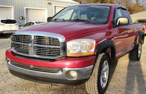 2006 Dodge Ram Pickup 1500 for sale at Hilltop Auto in Prescott MI
