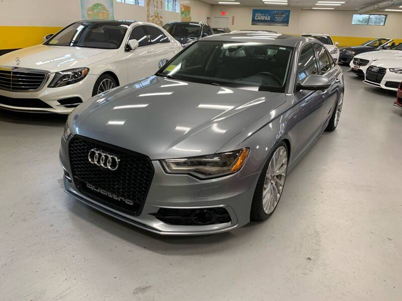 2015 Audi A6 for sale at Newton Automotive and Sales in Newton MA