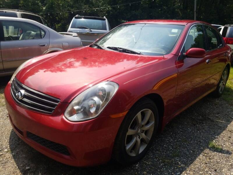 2006 Infiniti G35 for sale at Ray's Auto Sales in Elmer NJ