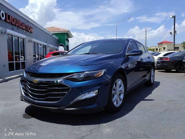 2019 Chevrolet Malibu for sale at Start Auto Liquidation Center in Miramar FL