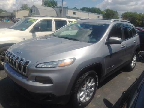 2014 Jeep Cherokee for sale at Irving Auto Sales in Whitman MA