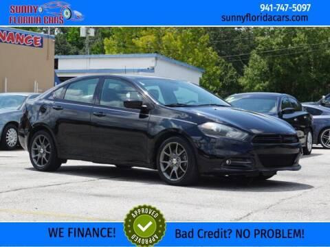 2013 Dodge Dart for sale at Sunny Florida Cars in Bradenton FL