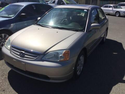 2003 Honda Civic for sale at Small Car Motors in Carson City NV