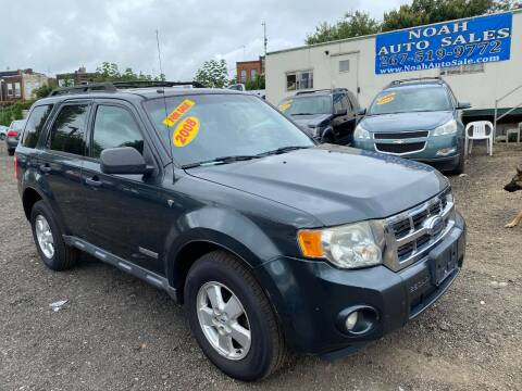 2008 Ford Escape for sale at Noah Auto Sales in Philadelphia PA
