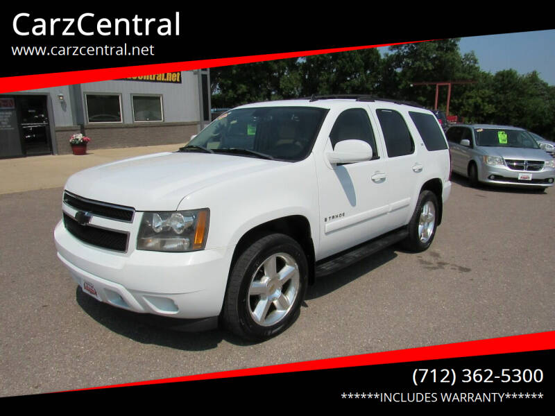 2007 Chevrolet Tahoe for sale at CarzCentral in Estherville IA