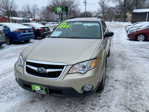 2008 Subaru Outback for sale at BK2 Auto Sales in Beloit WI