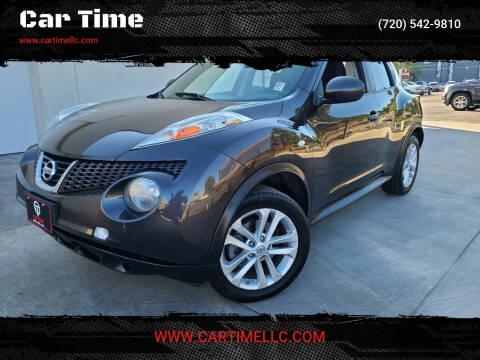 2012 Nissan JUKE for sale at Car Time in Denver CO