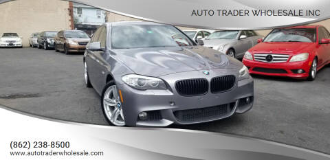 2013 BMW 5 Series for sale at Auto Trader Wholesale Inc in Saddle Brook NJ