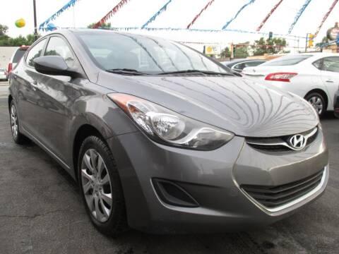 2012 Hyundai Elantra for sale at EZ Finance Auto in Calumet City IL