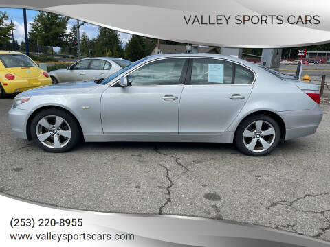 2006 BMW 5 Series for sale at Valley Sports Cars in Des Moines WA