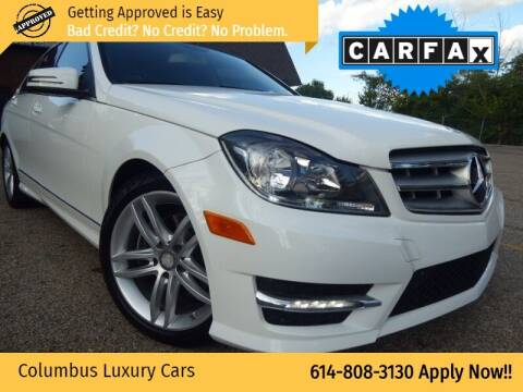 2013 Mercedes-Benz C-Class for sale at Columbus Luxury Cars in Columbus OH