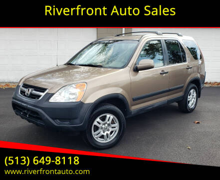 2003 Honda CR-V for sale at Riverfront Auto Sales in Middletown OH