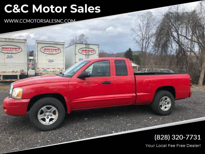 2005 Dodge Dakota for sale at C&C Motor Sales LLC in Hudson NC