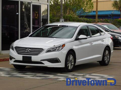 2015 Hyundai Sonata for sale at DriveTown in Houston TX