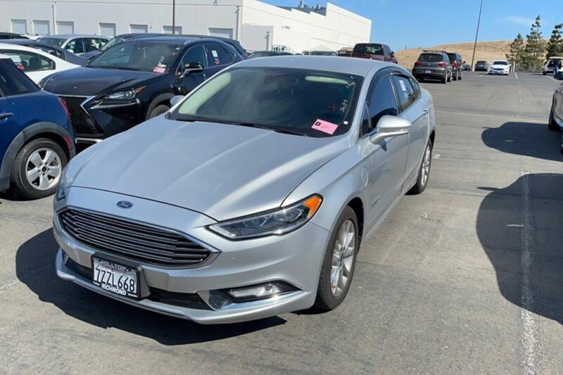 2017 Ford Fusion Energi for sale at CENTURY MOTORS in Fresno CA