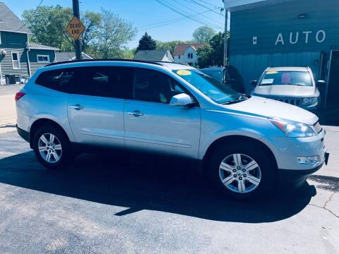 2012 Chevrolet Traverse for sale at SHEFFIELD MOTORS INC in Kenosha WI