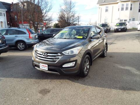 2013 Hyundai Santa Fe Sport for sale at FRIAS AUTO SALES LLC in Lawrence MA
