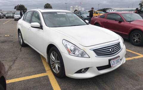 2011 Infiniti G25 Sedan for sale at Trocci's Auto Sales in West Pittsburg PA