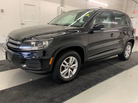 2012 Volkswagen Tiguan for sale at TOWNE AUTO BROKERS in Virginia Beach VA